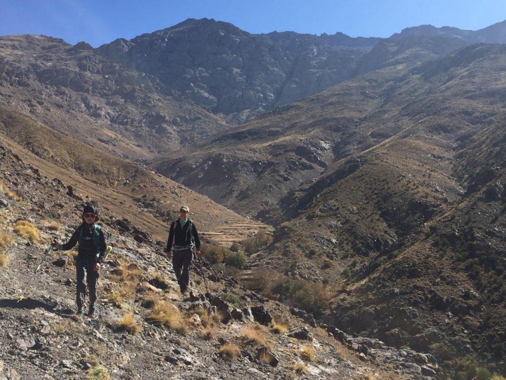 trekking high atlas