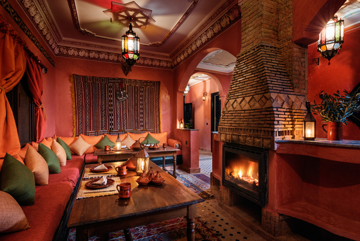 Ouirgane Ecolodge. Photo by Alan Keohane www.still-images.net